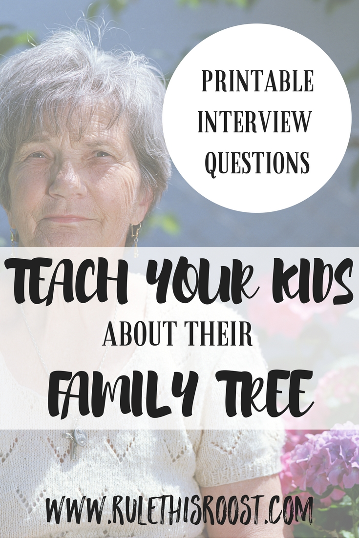 interview questions family tree