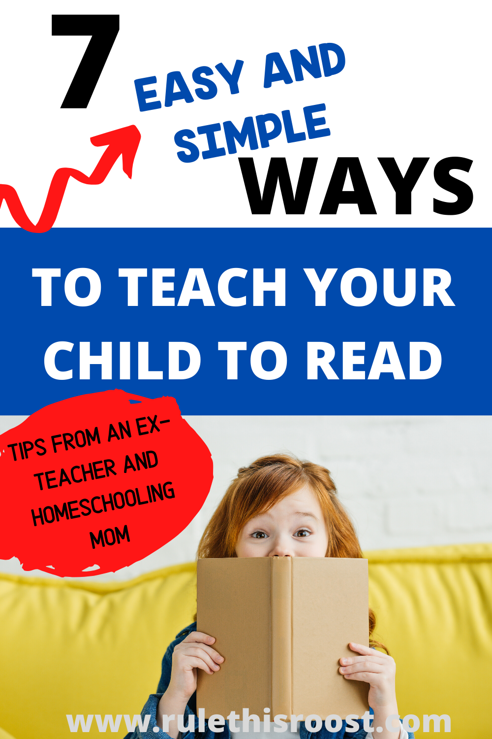 7 Simple and Easy Ways to Teach Your Child to Read