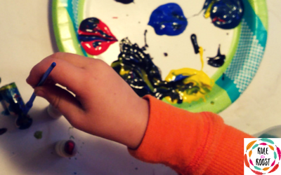 How To Manage Art With Kids in a Tiny Living Space