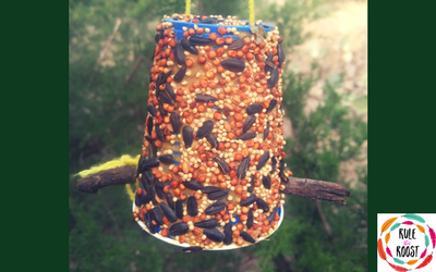 DIY Bird Feeder for Kids