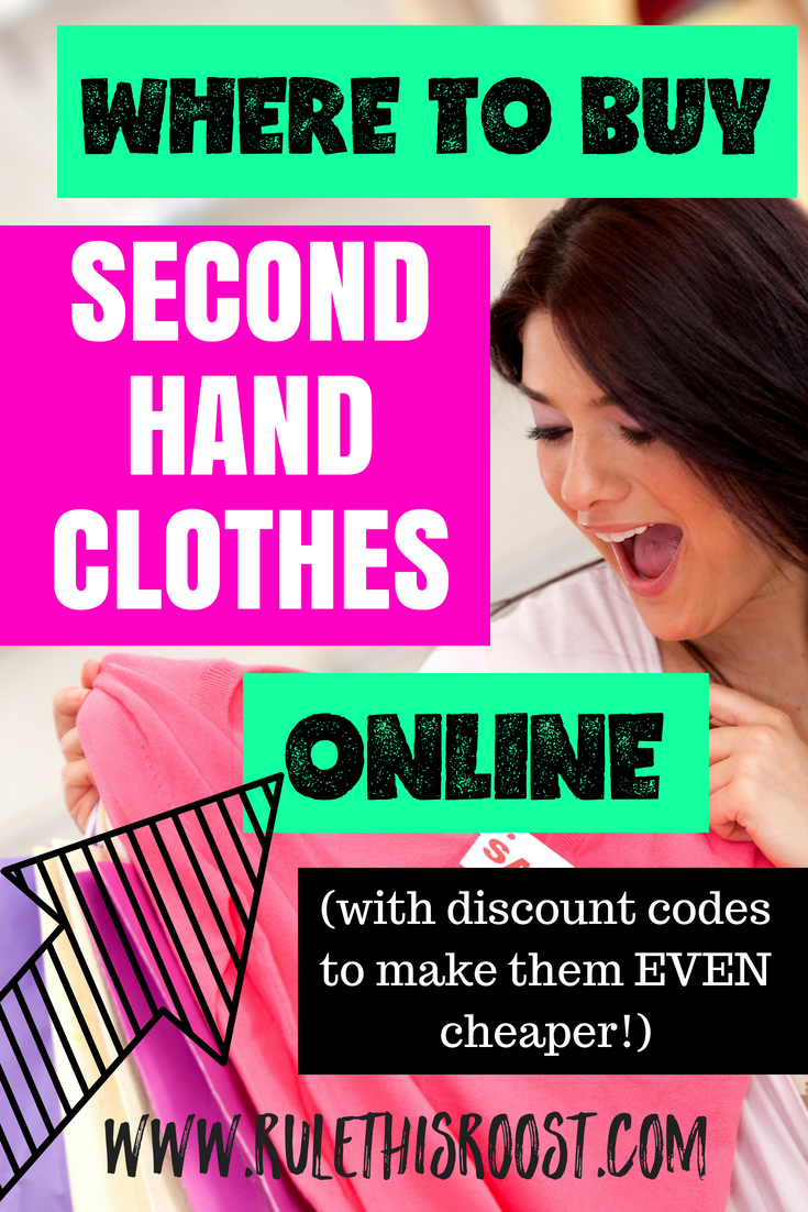Where to Buy Second Hand Clothes Online | Rule This Roost