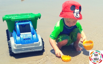 Beach Vacation Packing List:  Toddler and Baby