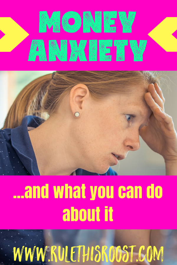 Money Anxiety and What You Can Do About It. Simple steps to make you feel more at peace with your finances. #moneyanxiety #finances #financialpeace