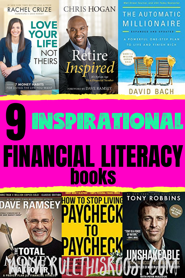 9 Financial Literacy Books that Will Inspire You to Get Your Finances in Order