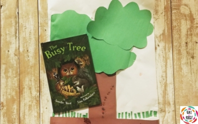 The Busy Tree Book Activity for Kids
