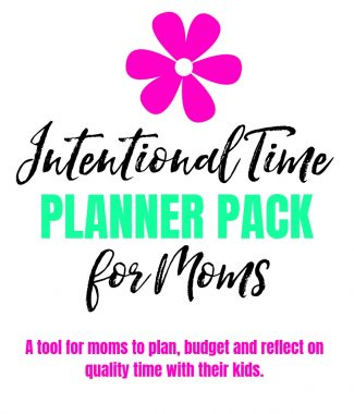 COVER OF final intentional time planner pack for moms