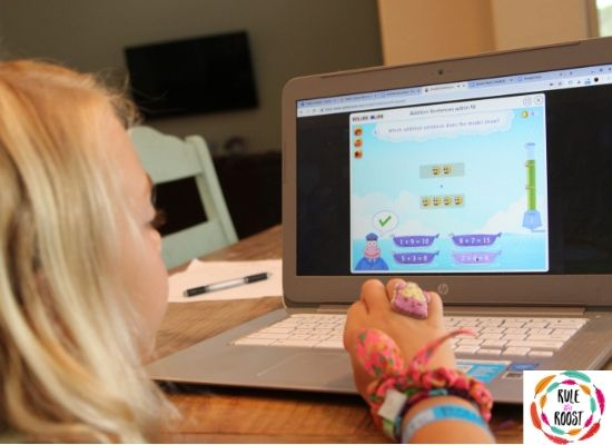 Splash Math Online Games for Homeschoolers
