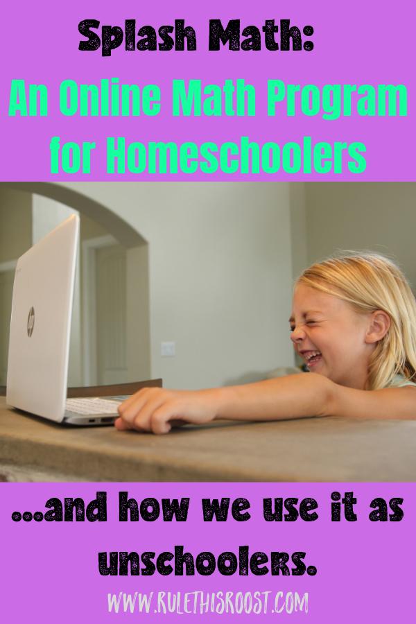 Splash Math Online Learning Program for Homeschoolers