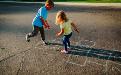 homeschool pe ideas hopscotch