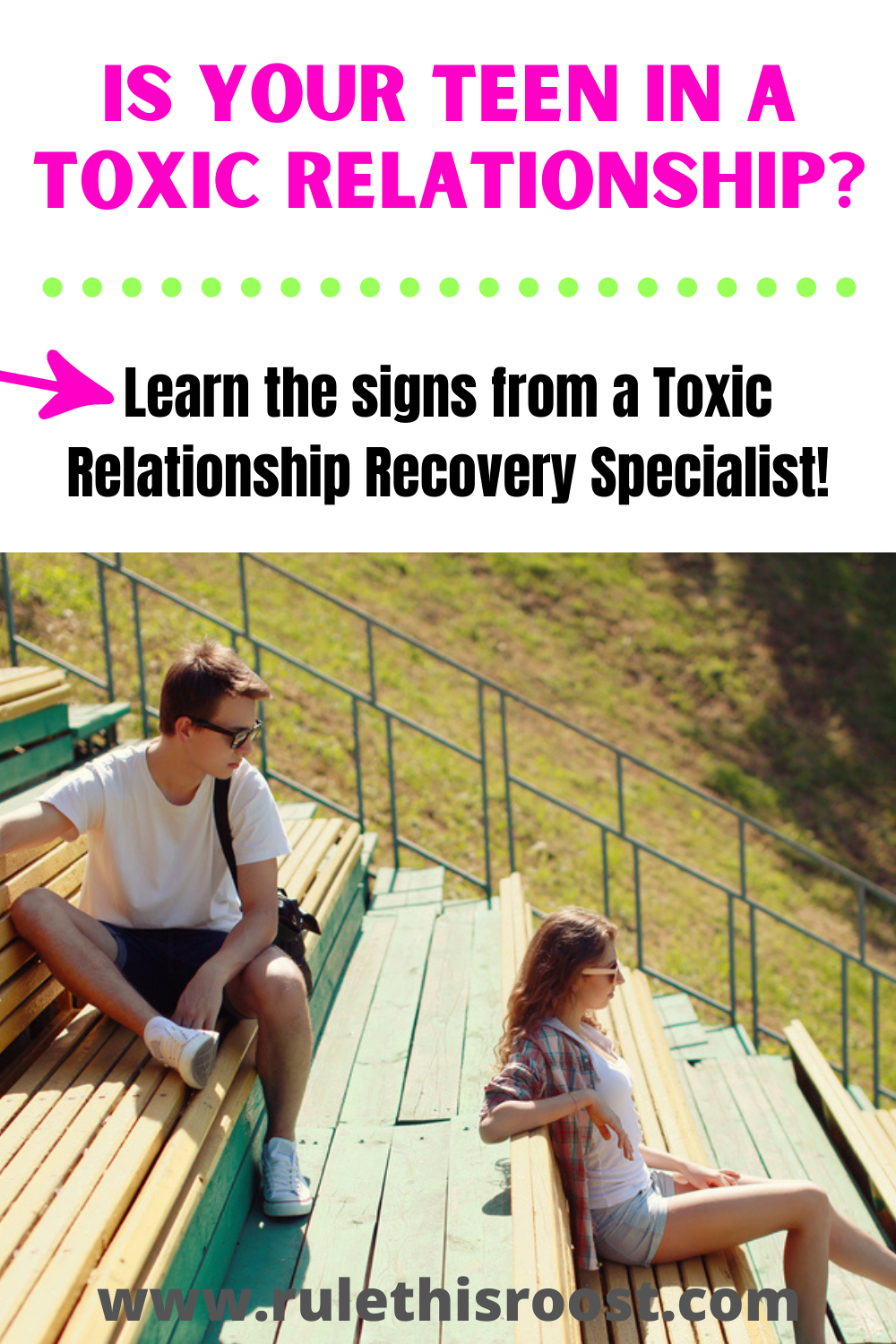 is my teen in a toxic relationship